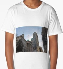 #architecture, #city, outdoors, office, #sky, #skyscraper, business, finance, #tower Long T-Shirt