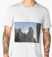 #architecture, #city, outdoors, office, #sky, #skyscraper, business, finance, #tower Men's Premium T-Shirt