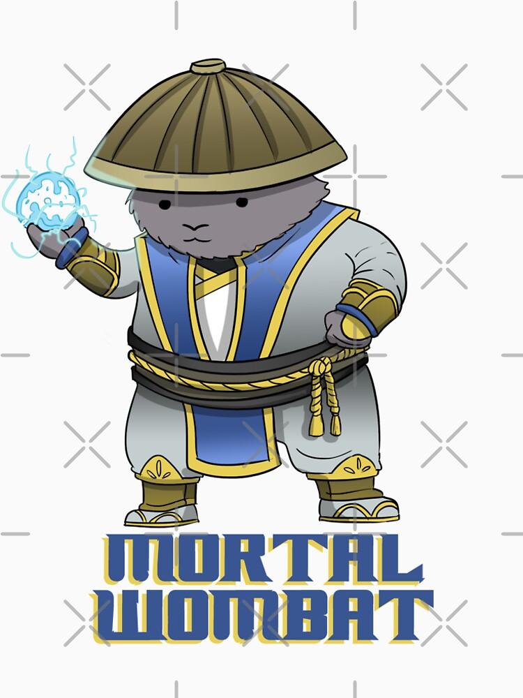 Mortal Wombat - Funny gaming shirt for nerds by macschicken
