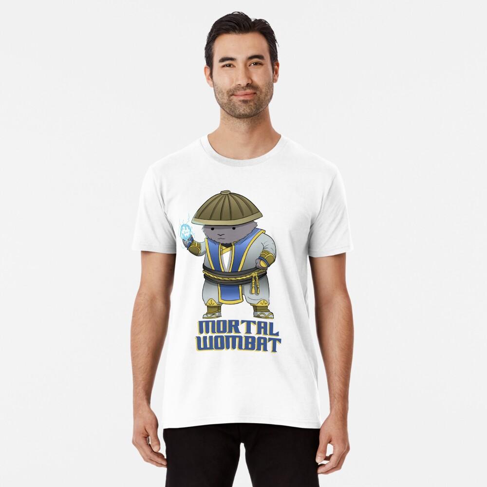 Mortal Wombat - Funny gaming shirt for nerds Premium T-Shirt