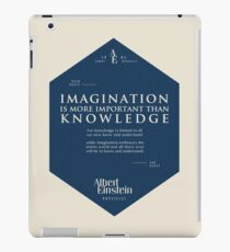 Vinilo o funda para iPad Citas de: Albert Einstein en Imaginación - Cartel, camiseta, adhesivo y regalos
