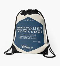 Mochila de cuerdas Citas de: Albert Einstein en Imaginación - Cartel, camiseta, adhesivo y regalos