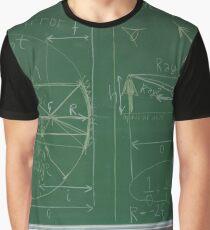 #Classroom, #Physics, #Mathematics, #education, writing, #handwriting, formula, algebra, learning, studying, university Graphic T-Shirt