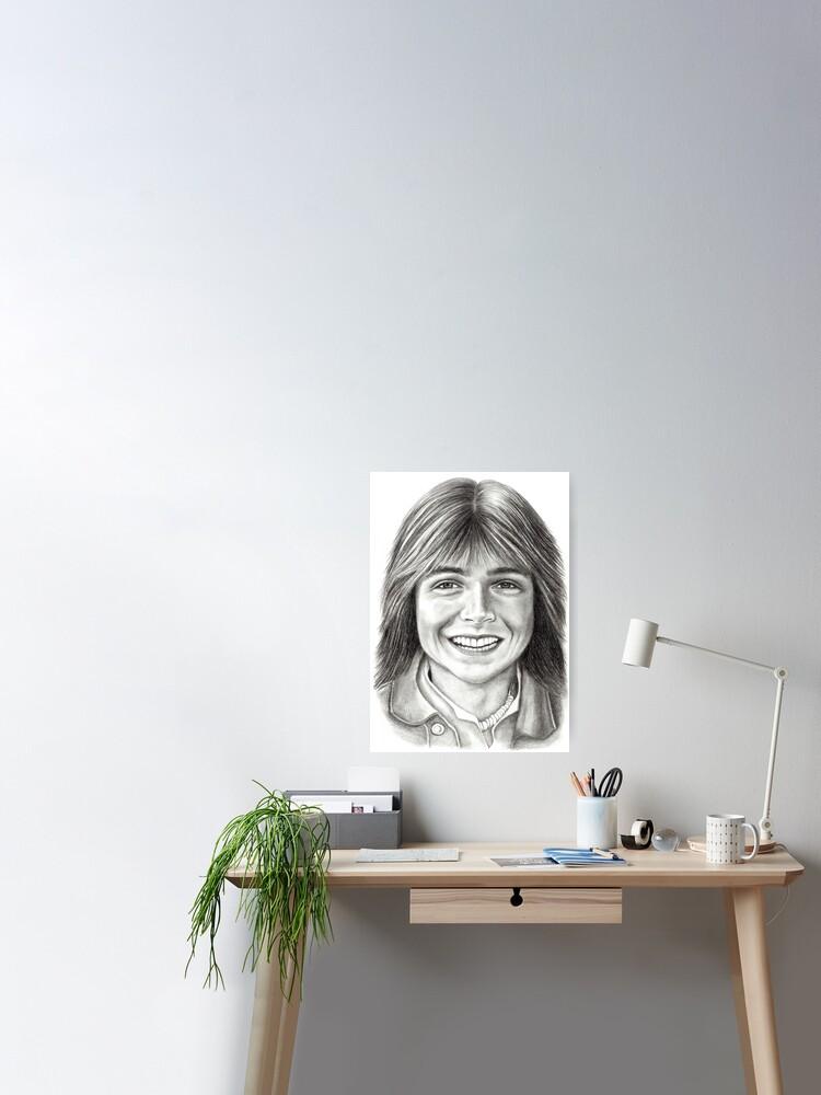 CANVAS Actor David Cassidy Smiling Print Art POSTER