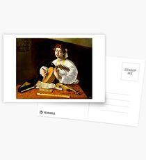 Michelangelo da Caravaggio - The Lute Player Postcards