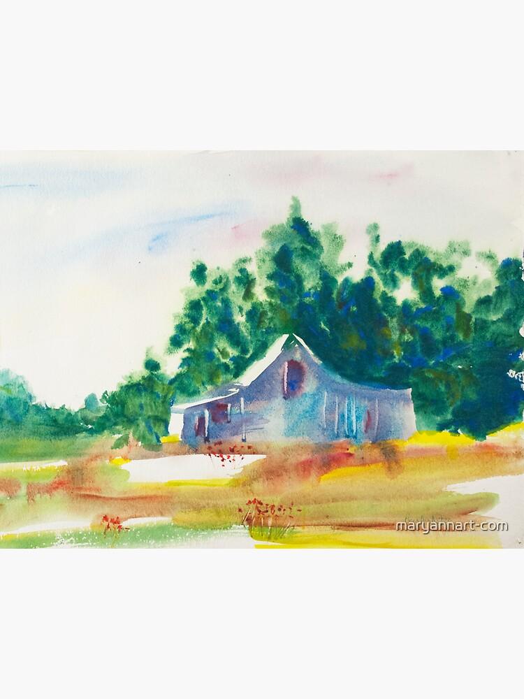 The Barn by maryannart-com