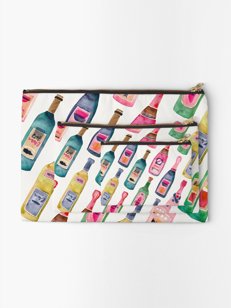 Alternate view of Champagne Collection Zipper Pouch