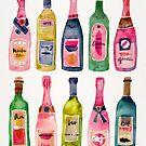 Champagner-Sammlung von Cat Coquillette
