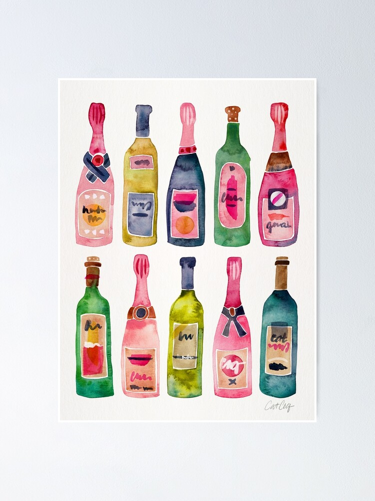 Alternate view of Champagne Collection Poster