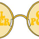 CIRCLE GLASSES - GIRL POWER STYLE  by Maddison Green