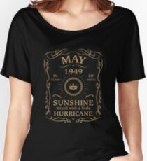 May 1949 Sunshine Mixed With A Little Hurricane Relaxed Fit T-Shirt