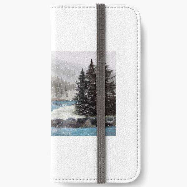 Winter River iPhone Wallet