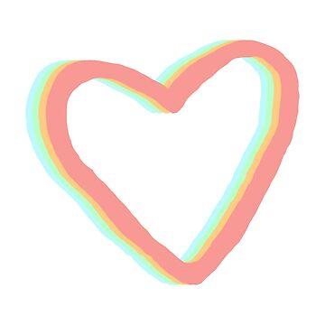 Pastel Heart Love by lukassfr