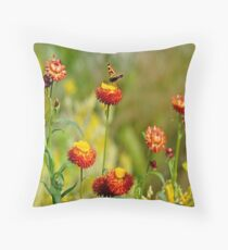 Spring Lunch Throw Pillow