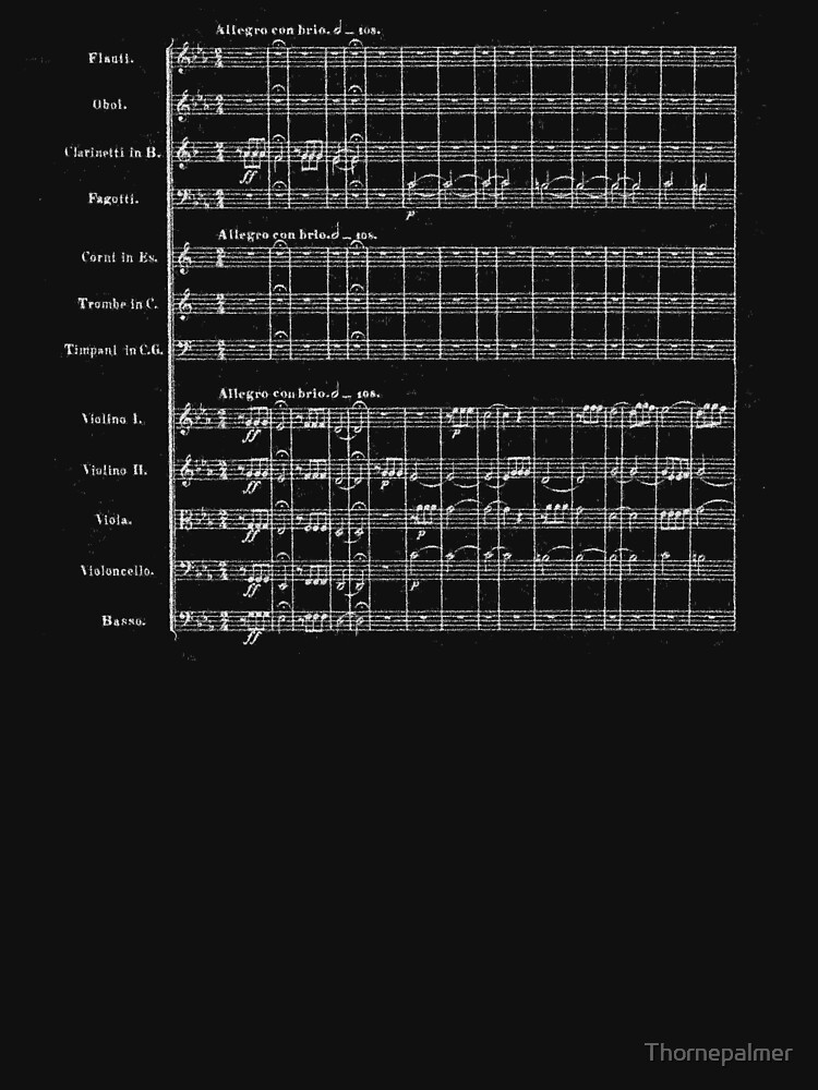 Beethoven's Fifth Symphony by Thornepalmer