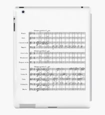 Beethoven's Fifth Symphony iPad Case/Skin