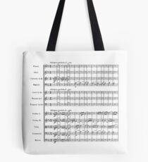 Beethoven's Fifth Symphony Tote Bag