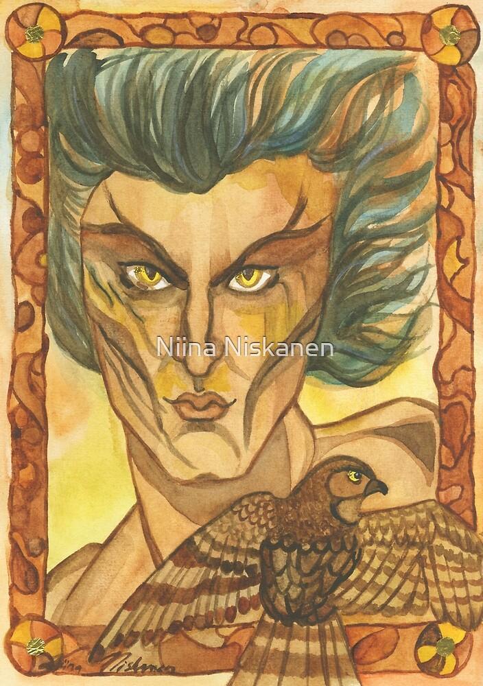 Sparrow Hawk  by Niina  Niskanen