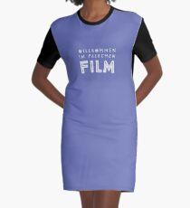Willkommen im falschen Film T-Shirt Kleid