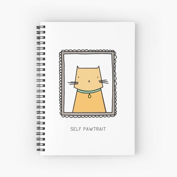 SELF PAWTRAIT Spiral Notebook