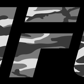 UFC gray camo by knightink