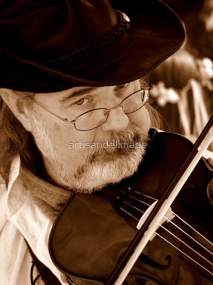 The Long Sob Of My Violin by artisandelimage