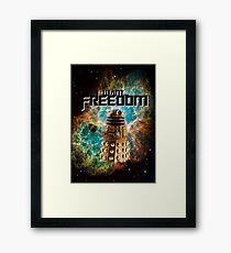 I want...freedom [Nebulosa] Framed Print