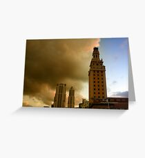Scenes from Miami VIII Greeting Card