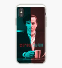 We're Just Alike iPhone Case