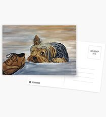 Yorkshire Terrier - Naughty Dog Postcards