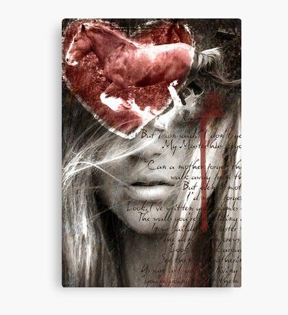 A Love Letter Canvas Print