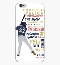 Christian Yelich - Brewers iPhone Case