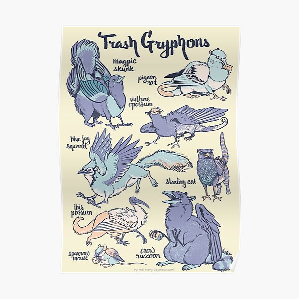 Trash Gryphons: Collection Poster