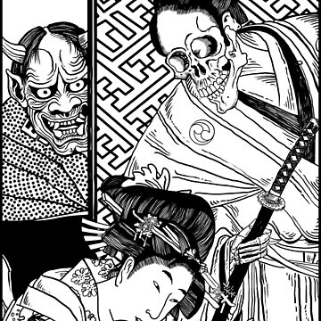 Death and the Maiden: Feudal Japan Edition by ZugArt