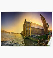 Parliament HDR Poster