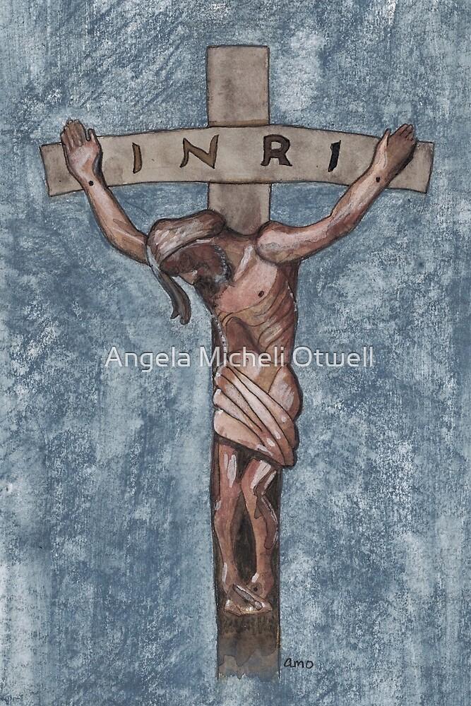 Crucifixion by Angela Micheli Otwell