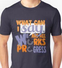 What Can I say [Orange/Violet] Unisex T-Shirt