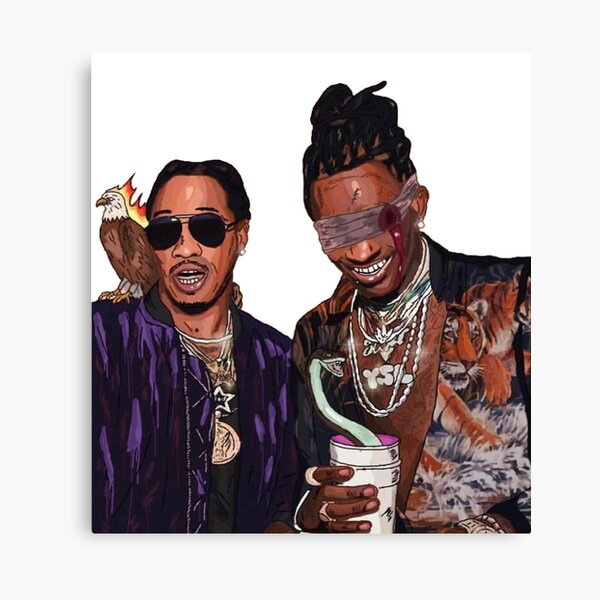 Young Thug Future Canvas Print
