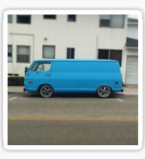 Chevy Panel Van Sticker