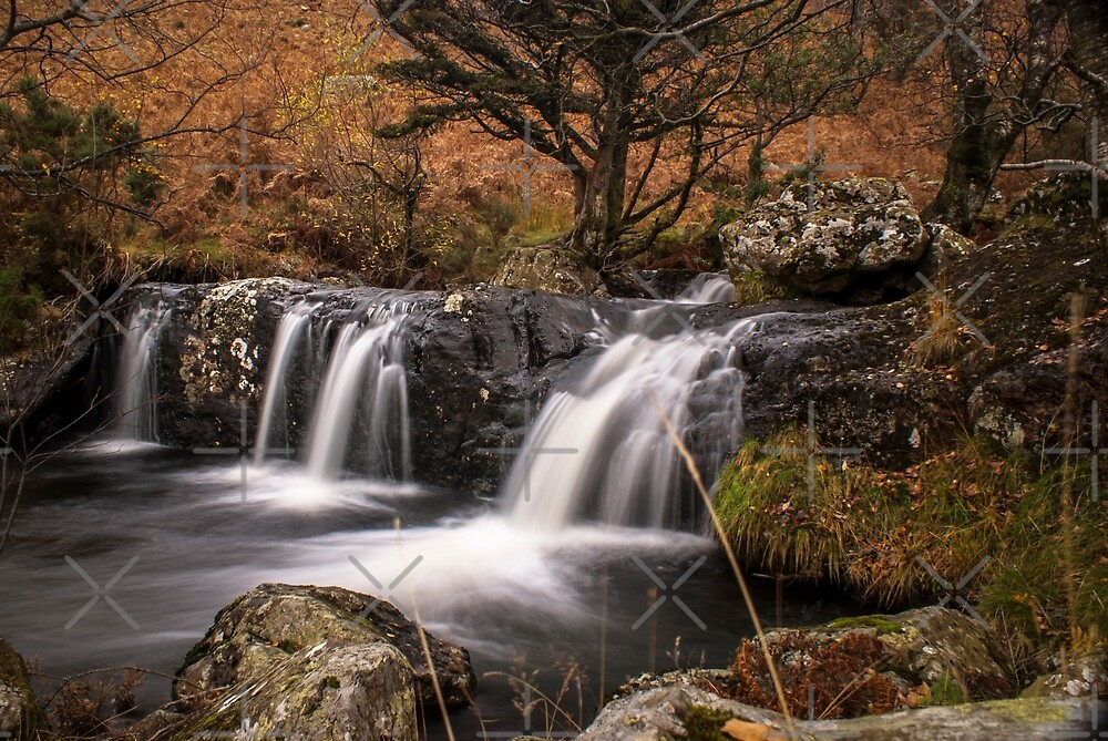 And The Water Falls by George Davidson