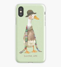 Ducktor Who iPhone Case/Skin