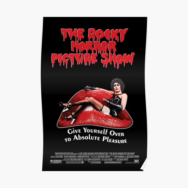 The Rocky Horror picture show vintage movie advertising Poster reproduction.