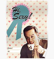 Moriarty Valentine's Day Card Poster
