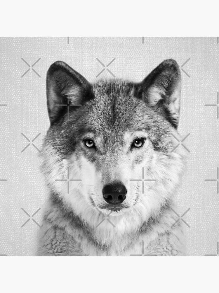 Wolf - Schwarzweiß von galdesign