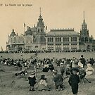 1900 Ostend Siesta on the Beach  by aapshop
