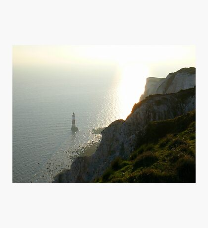 Late afternoon at Beachy Head Photographic Print