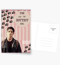 My Teenwolfed Valentine [You are the hottest girl] Postcards