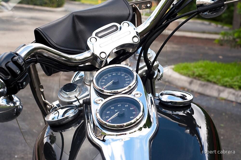 Motorcycle View by robert cabrera