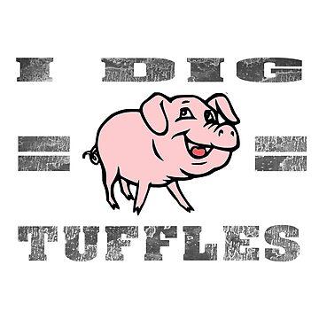 Trüffel Schwein, Geschenk Shirt Für Alle Pilz Liebhaber von gdimido