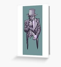Tophat Greeting Card